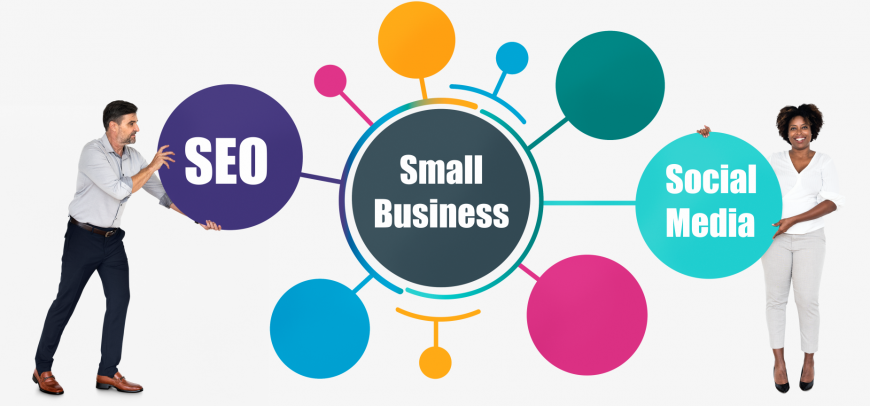 SEO and social media for smal business